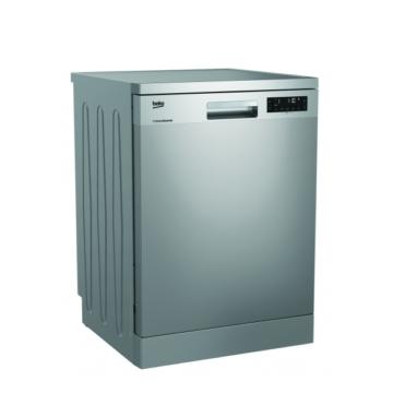 Beko DFN26420 X mosogatógép inox színű, 14 terítékes, 5 év garanciával