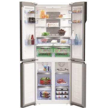 Beko GNE 480E30 ZXPN amerikai Side By Side hűtőszekrény 5 év garanciával