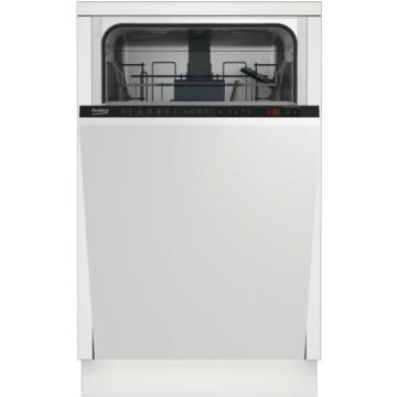 Beko DIS26021 beépíthető keskeny mosogatógép