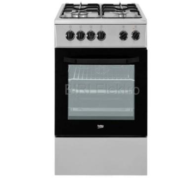 Beko FSE52020 FS ezüst kombinált tűzhely 2 év garanciával