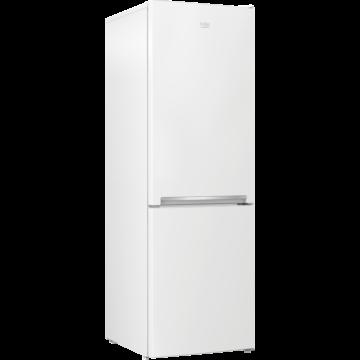 Beko RCSA-366K40 WN alulfagyasztós kombinált hűtőszekrény fehér színben 3 fiókos fagyasztóval