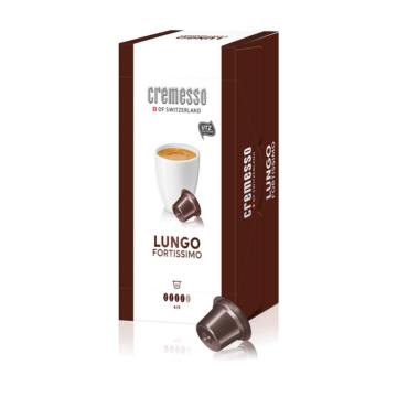 Cremesso Lungo Fortissimo kávékapszula 16 db-os kiszerelésben