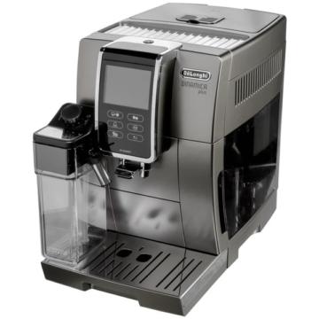 DeLonghi ECAM 370.95.T automata kávéfőző nagy érintős LCD kijelzővel, 15 bar nyomással, beépített programokkal