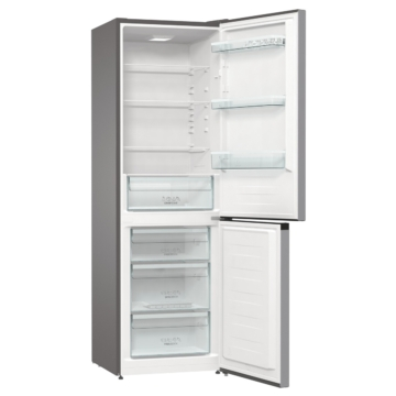 Gorenje NRK6182PS4 alulfagyasztós NoFrost kombinált hűtőszekrény 3 év garancia