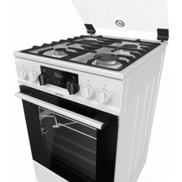 Gorenje KS5350WF kombinált tűzhely 70 literes multifunkciós sütővel, gőzfunkcióval, katalitikus hátfallal