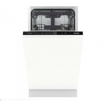 Gorenje GV561D10 keskeny kivitelű beépíthető mosogatógép TotalDry szárítással 3 év garanciával
