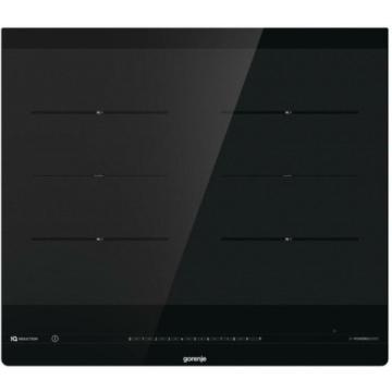 Gorenje IS646BG indukciós főzőlap 3 év garanciűával, csúszkás vezérléssel, lekerekített széllel fekete színben