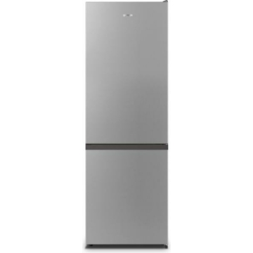 Gorenje NRK6181PS4 alulfagyasztós NoFrost hűtőszekrény A+ szürke