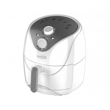 Hauser AF-460 forrólevegős sütő 4,6 literes kivehető, tapadásmentes tartállyal 30 perces időzítővel fehér színben