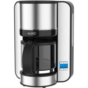 Hauser C-822 rozsdamentes acél kávé és teafőző 12-15 csésze kávé vagy tea főzésére alkalmas., programozható és melegentartó funkciókkal