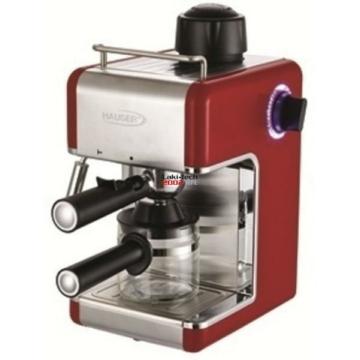 Hauser CE-929 presszókávéfőző piros színben