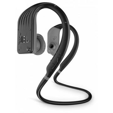 JBL Endurance Jump vízálló fekete színű Bluetooth sportfülhallgató fülhallgató 8 órás akku üzemidővel