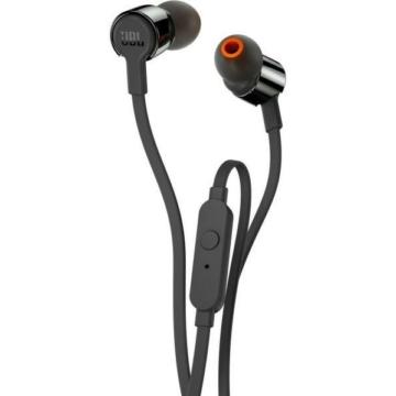 JBL T110 vezetékes fülhallgató fekete színben