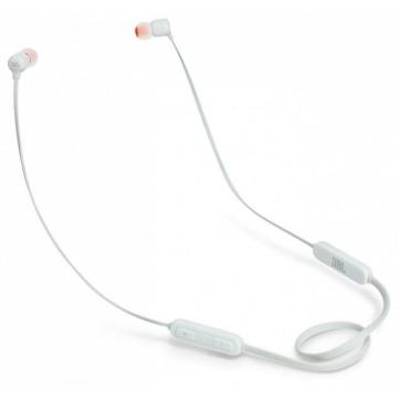 JBL T110 bluetooth fülhallgató fehér színben