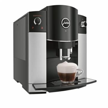Jura D6 Platin automata kávéfőző 15 bar ezüst-fekete színben
