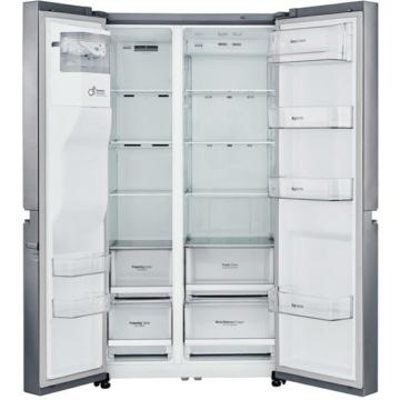 LG GSL760PZXV Side by Side amerikai hűtőszekrény 405/196 liter NoFrost A+