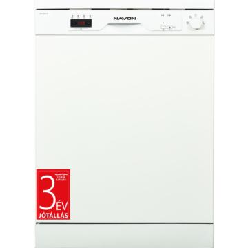 Navon DSW6000 W fehér színű mosogatógép 3 év garanciával
