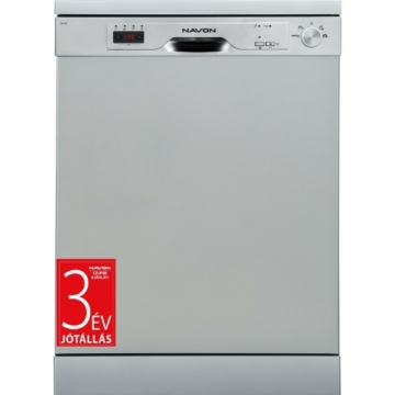 Navon DSL 60 inox színű mosogatógép