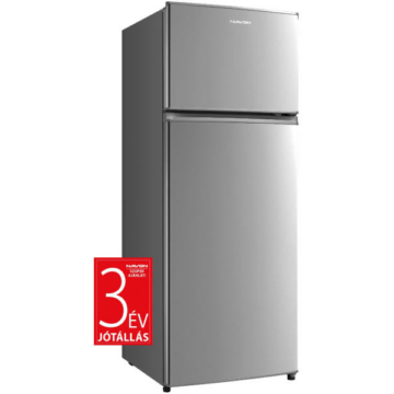 Navon HC 205 E  felülfagyasztós kombinált hűtőszekrény inox színben