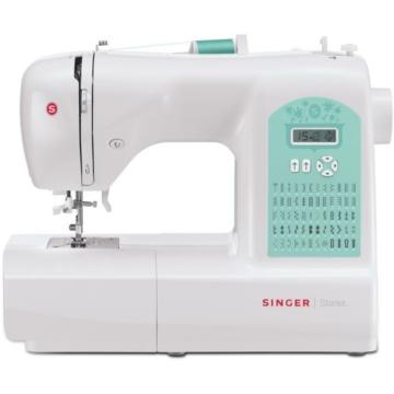 Singer 6660 STARLET varrógép Elektronikus vezérlés, 60 öltésminta, ezen belül dekor ér rugalmas öltések, 4 féle automata 1 lépéses gomblyukvarrás, LCD kijelző, Állítható öltészélesség és hosszúság - akár 6.5 mm szélles öltések, Automata tűbefűzés, Álíthat