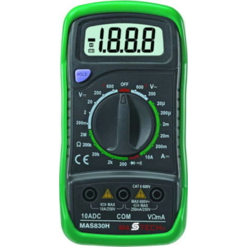 SMA by Somogyi MAS 830 digitális multiméter