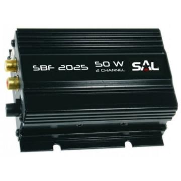 SAL SBF 2025 2 csatornás univerzális autóerőerősítő 4 ohm 50 W