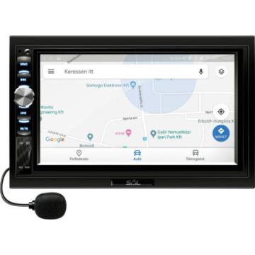 """SAL VB X900 autórádió és multimédia lejátszó 7"""" LCD kijelzővel"""