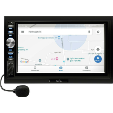 SAL VB X900 autósfejegység és multimédia lejátszó 7