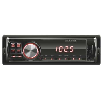 SAL VBT 1000/RD autórádió és MP3 lejátszó piros BT kapcsolattal