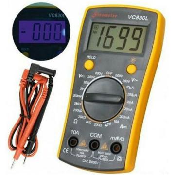 SMA by Somogyi VC 830L digitális multiméter