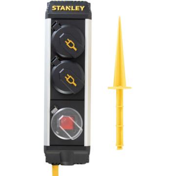 Stanley SXECCC0LAJE 2-es elosztó kapcsolóval 5 méteres
