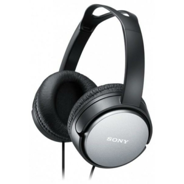Sony MDR-XD150B fekete vezetékes fejhallgató