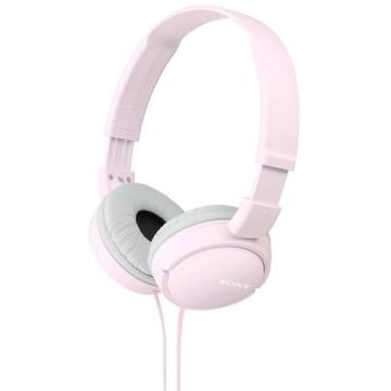 Sony MDR-ZX110 rózsaszínű fejhallgató, összecsukható, utazáshoz praktikus