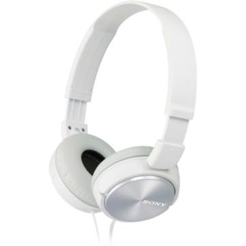 Sony MDR-ZX310W kompakt kialakítású fehér színű, összecsukható vezetékes fejhallgató