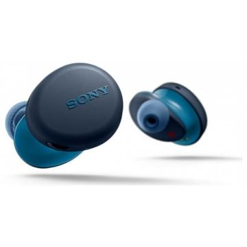 Sony WF-XB700 fekete színű vezeték nélküli fülhallgató akár 18 órányi zenehallgatáshoz, telefonáláshoz