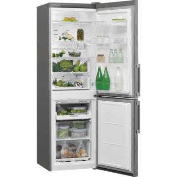 Whirlpool W7 821O K alulfagyasztós hűtőszekrény