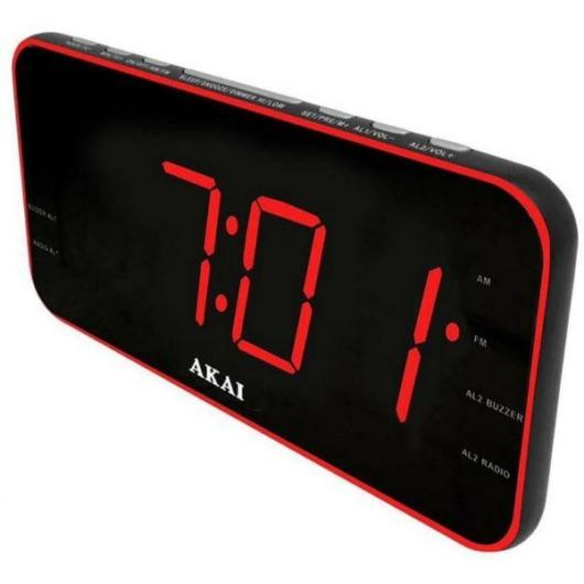 AKAI ACR-3899 ébresztőórás rádió