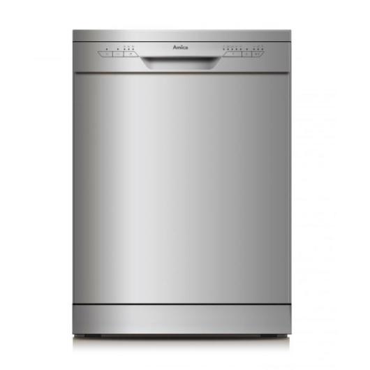 Amica ZWM 615 SC 60 cm széles szürke színű mosogatógép 12 terítékes