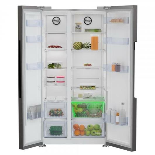 Beko GN163130 SN amerikai Side by Side hűtőszekrény