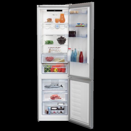 Beko RCNA406I40 XBN alulfagyasztós NoFrost hűtőszekrény 5 év garanciával