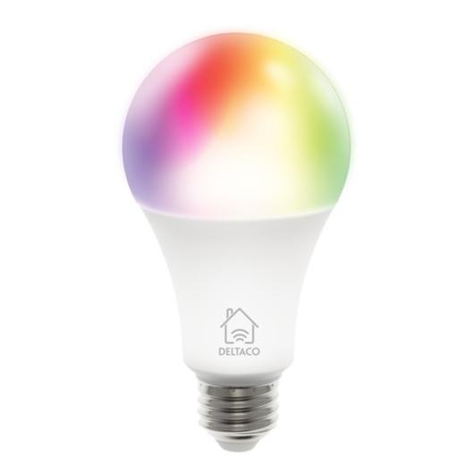 Deltaco SH-LE27RGB LED színes izzó E27 9W WIFI