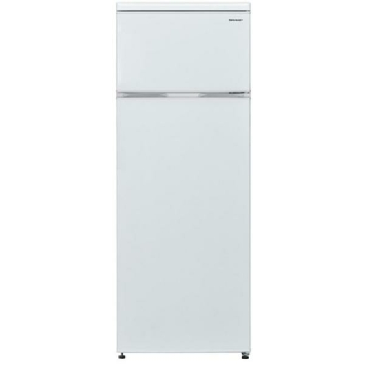 Sharp SJ-T1227M5W-EU felülfagyasztós hűtőszekrény 2 év garanciával