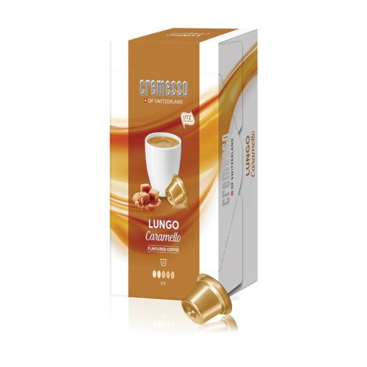 Cremesso Lungo Caramello kávékapszula 16 db-os kiszerelésben