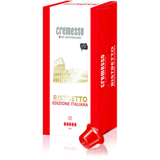 Cremesso Ristretto Edizione Italiana kávékapszula 16 db-os kiszerelésben