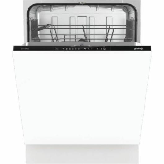 Gorenje GV631E60 teljesen beépíthető mosogatógép 13 terítékes rejtett kezelőgombokkal