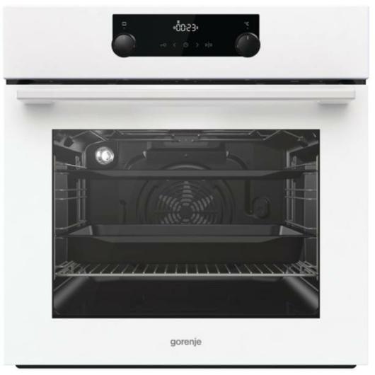 Gorenje BO735E11W fehér multifunkciós beépíthető sütő 3 év garanciával,