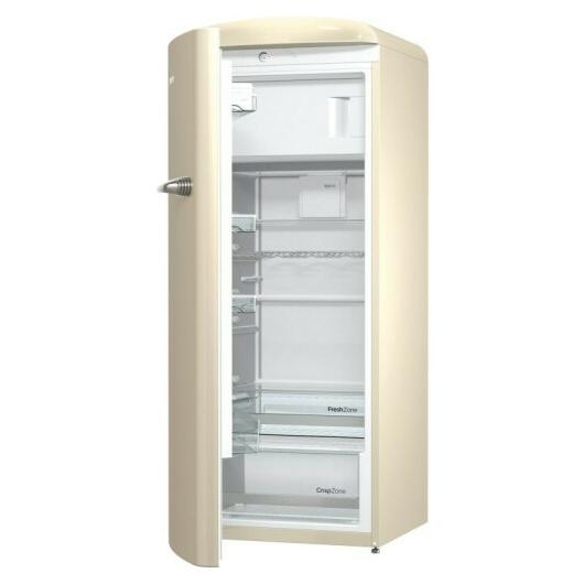Gorenje ORB153C egyajtós hűtőszekrény pezsgő színben 3 év garancia