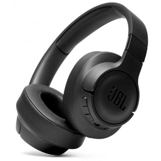 JBL T700BT bluetooth fejhallgató fekete színben