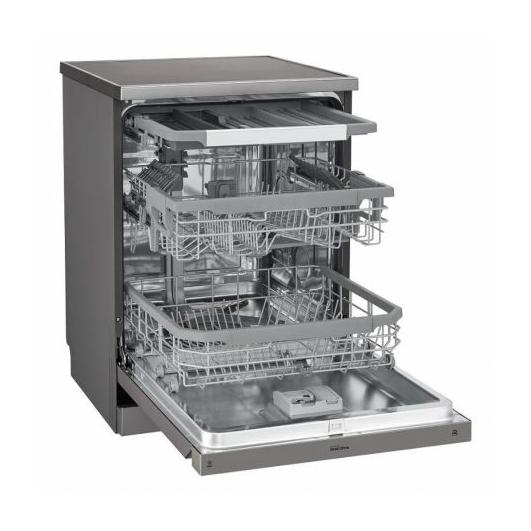 LG DF215FP QuadWash™ mosogatógép 14 teríték 2 év garanciával