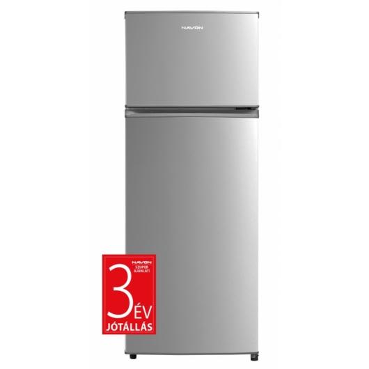 Navon C207 E INOX felülfagyasztós hűtőszekrény 3 év garanciával